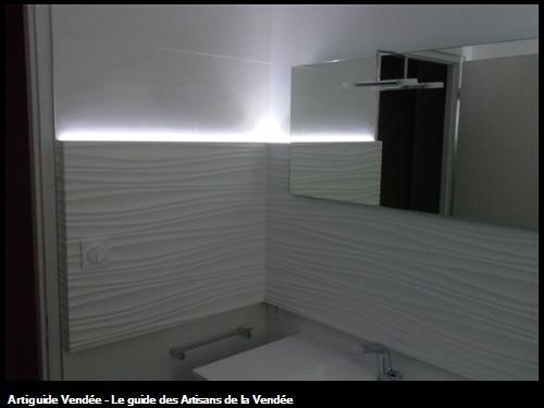 réalisation d'une salle de bain