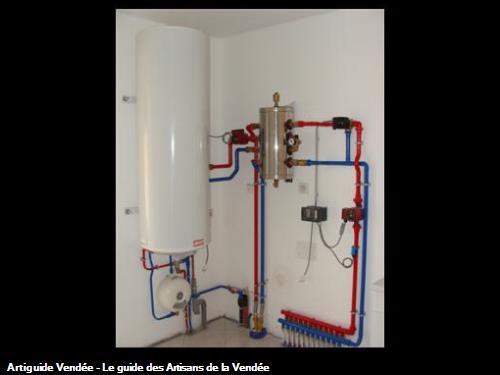 Installation de chauffage