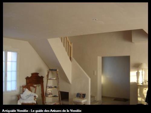 brique et enduit plâtre / Le Fenouiller 85800