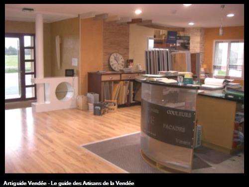 showroom de l'entreprise