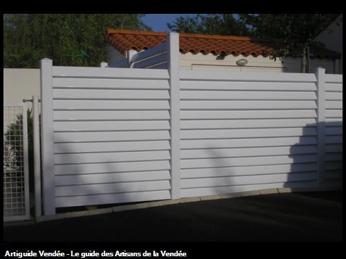 Clôture PVC (85 Olonne/Mer)