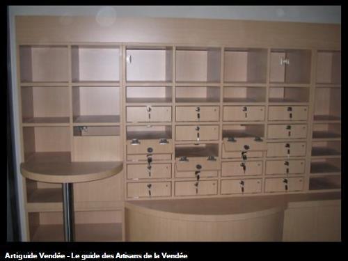 Fabrication ensemble meuble pour agence bancaire