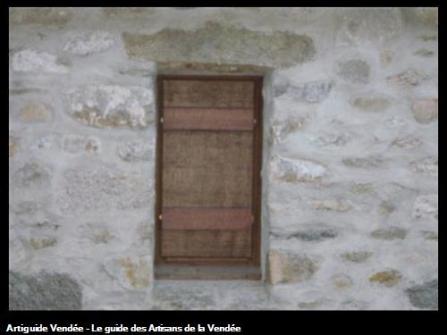Création fenêtre habillage pierres - Le Vieil