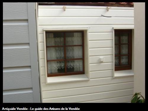 Isolation par l'extérieur d'une maison existante (bardage PVC)