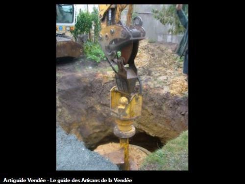 Réalisation d'un puits traditionnel