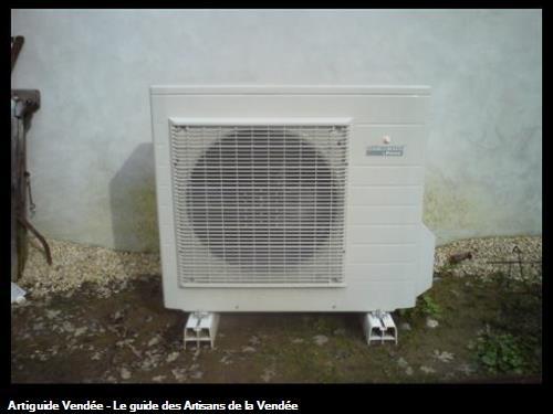 Pompe à chaleur groupe extérieur