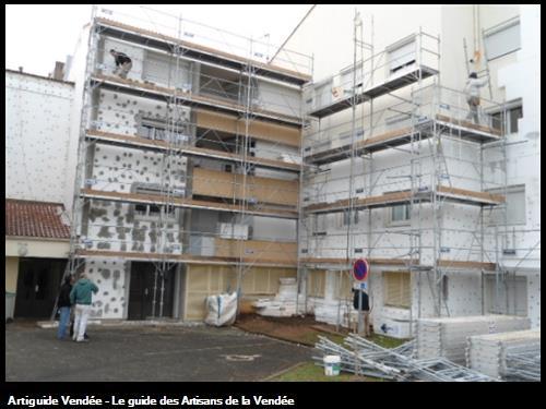 Rénovation de résidences - Fontenay Le Comte