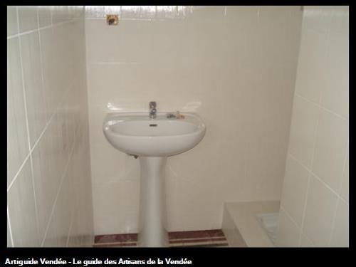 salle d'eau après rénovation, 85150 vairé