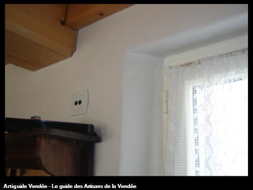 embrasure fenêtre plâtre / Le Fenouiller 85800