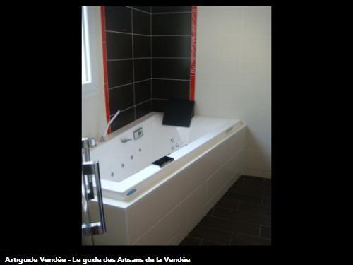 création espace bain