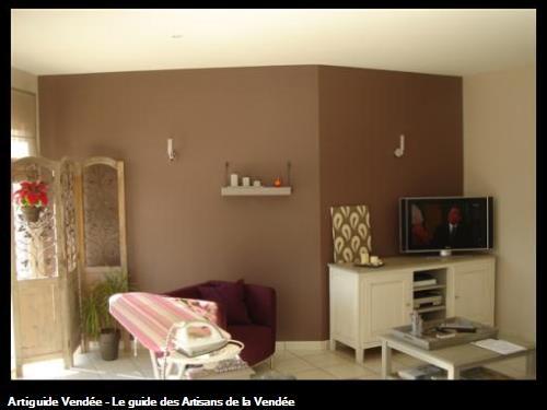 Vrignon peintre en batiment 85180 chateau d 39 olonne for Peinture murale couleur sable
