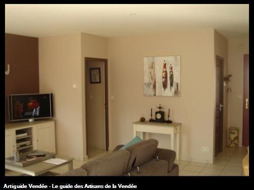 Vrignon peintre en batiment 85180 chateau d 39 olonne - Couleur couloir appartement ...