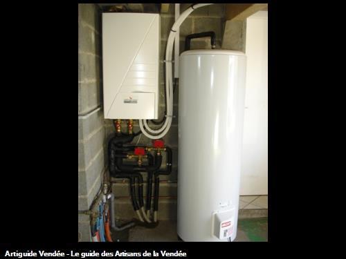 Installation pompe à chaleur et chauffe-eau électrique