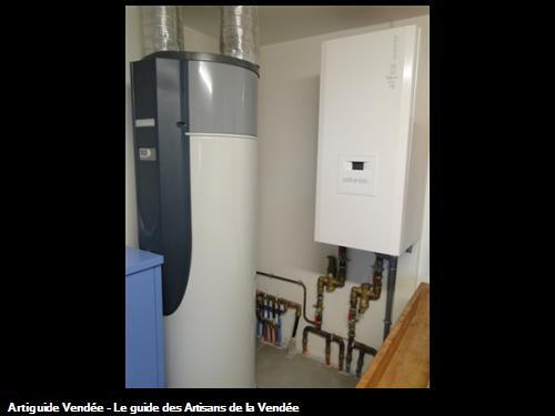 Pompe à chaleur + chauffe-eau thermodynamique