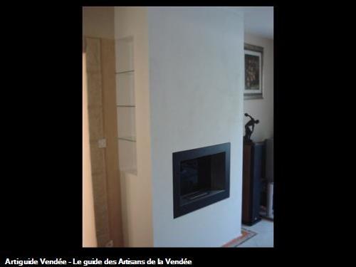 Habillage cheminée, Luçon 85400
