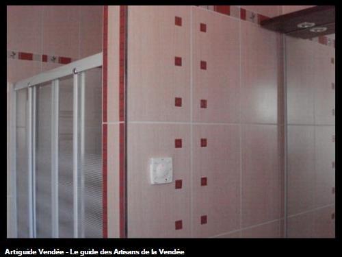 Pose faience salle de bain, Les Sables d'Olonne 85100