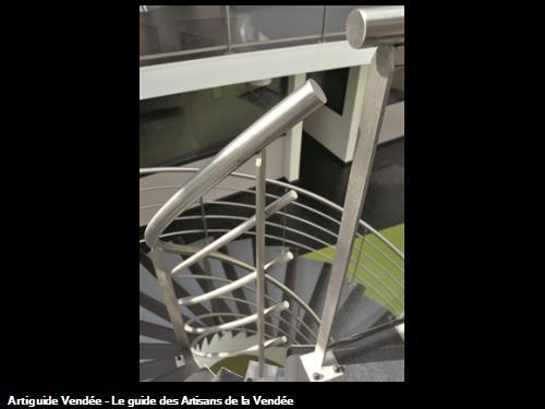 Rampes escalier Les Sables d'Olonne 85340