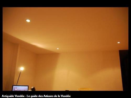 Plafond tendu à froid APRES - POUZAUGES (85)