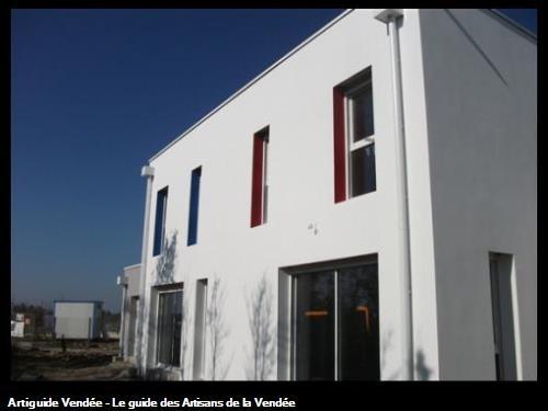 Voici une façade que nous avpns réalisés il y a peu de temps . N'hésitez pas à nous contacter !