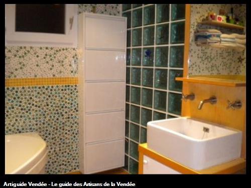 SALLE DE BAINS CHEZ PARTICULIER (mosaique)