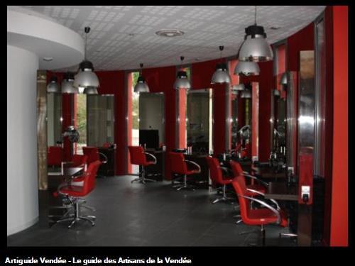 Eclairage salon de coiffure - STUDIO 46 - Orouet