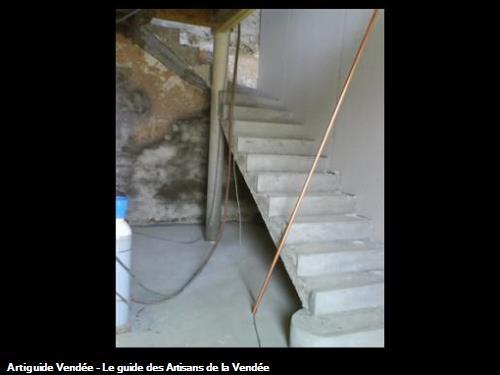 Escalier béton sur mesure
