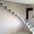 réalisation d'un escalier brut