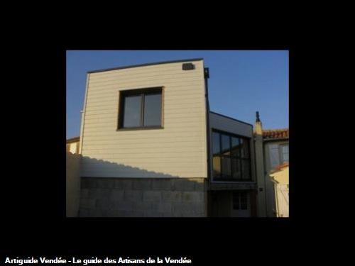 Extension ossature bois à Fontenay Le Comte 85200. (Suite)