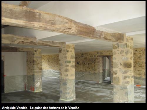 Restauration d'une grange en maison d'habitation