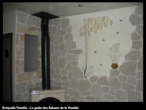 réalisation fausses pierres et décoration sur le secteur de Saint Gilles Croix de Vie 85800
