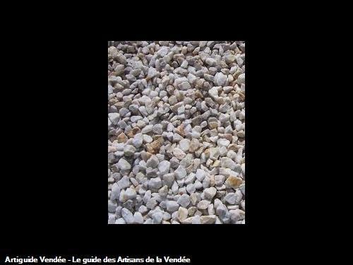 gravier  quartz la Roche sur Yon 85000