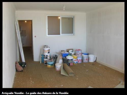 Réhabilitation d'un appartement - travaux de préparations - AVANT
