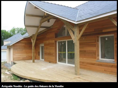 réalisation maison ossatures bois à Héric (44)