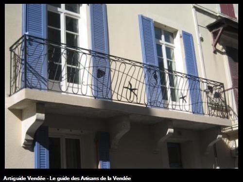 Garde corps de balcon fer forgé 85100 les sables d'olonne