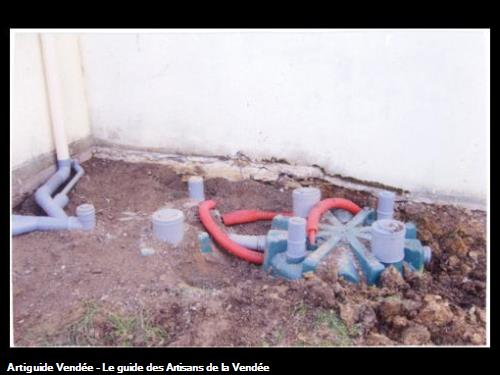 Pose de Micro station pour assainissement individuel - 85150 LA CHAPELLE ACHARD