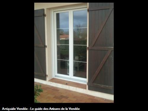 Porte fenêtre pvc LA MOTHE ACHARD