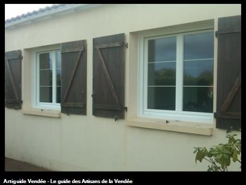 MENUISERIE PVC DE RENOVATION A MACHE