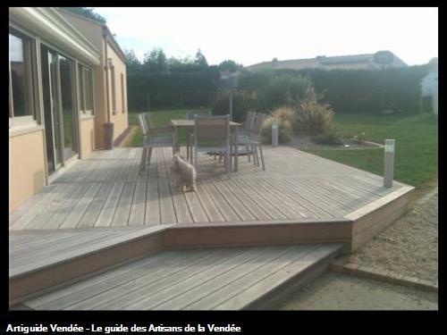 Terrasse bois IPE à Ste Foy