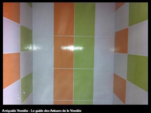 Carrelage mural salle, Luçon 85400