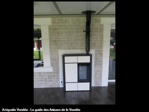 installer un poele a pellet dans une veranda. Black Bedroom Furniture Sets. Home Design Ideas