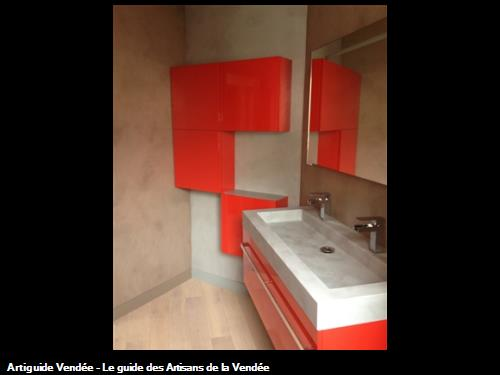 Salle de bains à Beaurepaire