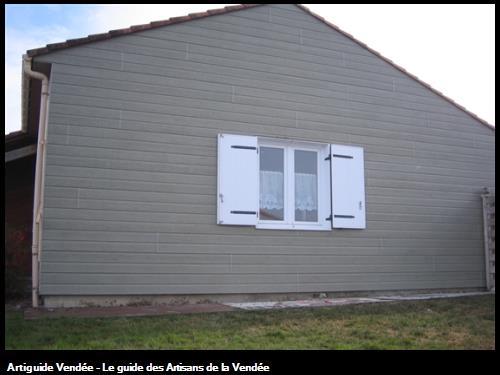Isolation extérieure, bardage secteur Montaigu 85600