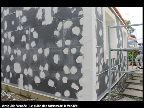 Pose d'Isolation Thermique par l'Extérieur - Rénovation de logements - St Philbert de Bouaine