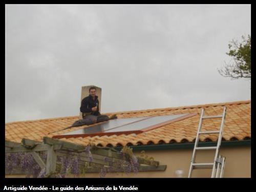Panneaux photovoltaiques pour chauffaux solaire