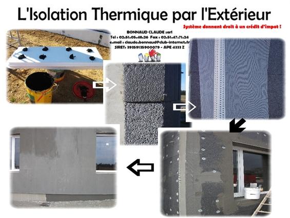 Voici le nouveau système d'Isolation Thermique par l'Extérieur . Un système d'Isolation très performant et écologique . Permet de préserver la planète et d'économiser votre énergie . N'hésitez pas à nous contacter pour plus d'informations dans ce domaine, nous saurons répondre à vos attentes dans de brefs délais.