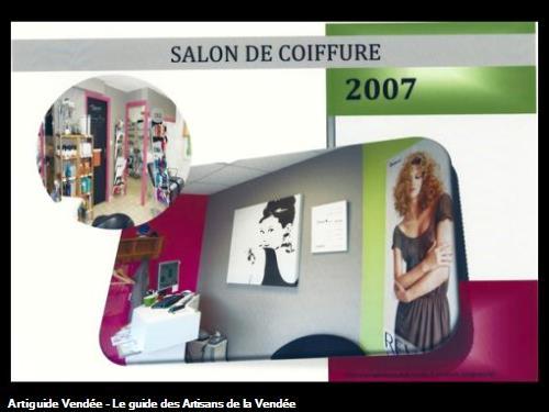 salon de coiffure avec couleur tendance,réalisé par l'entreprise Guy Praud SARL (Mouilleron le Captif 85000)