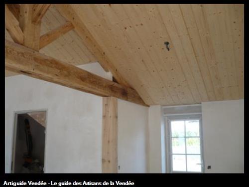 enduit plâtre rénovation / Soullans 85300