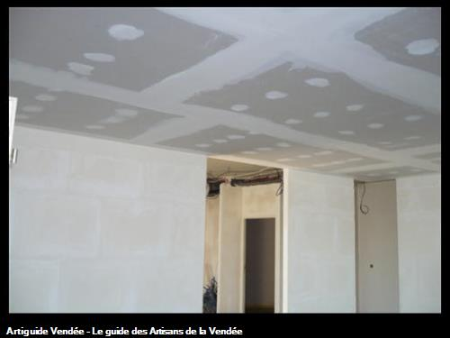 cloisons carreaux plâtre / St Gilles Croix de Vie 85800
