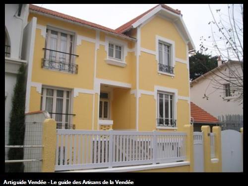 ravalement de facade sur le secteur de Saint Gilles Croix de Vie 85800