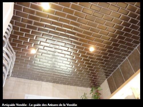 Fran ois gilles carreleur saint hilaire de riez for Carrelage au plafond